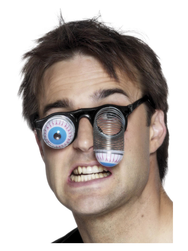 Droopy Eye Specs, with Metal Spring