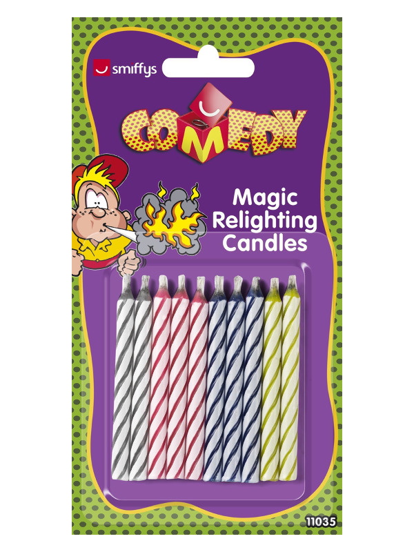 Magic Relighting Candles, 10