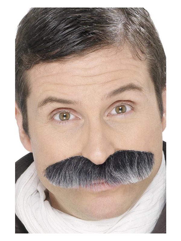 Squadron Leader Tash, Grey, Self-Adhesive
