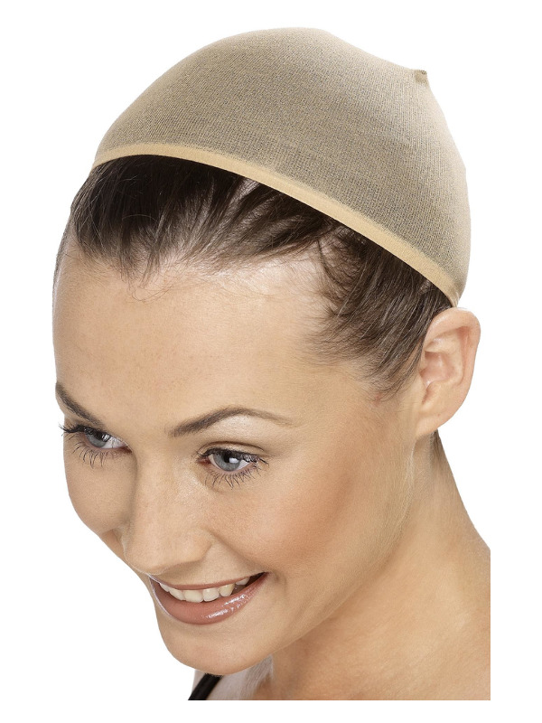 Wig Cap, Nude, Stretches to Cover Hair