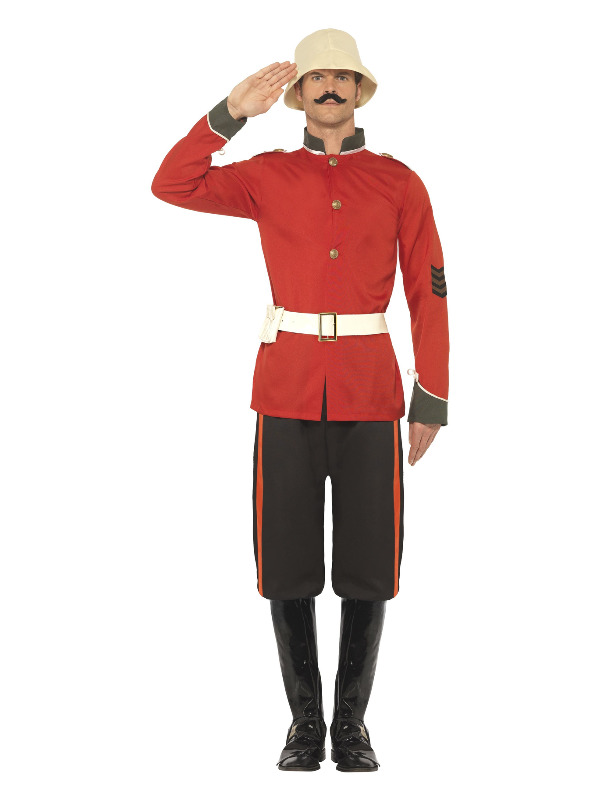Boer War Soldier Costume, Red
