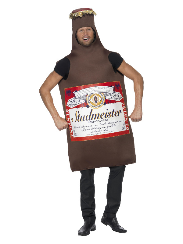 Studmeister Beer Bottle Costume, Brown, The Lord of Lagers