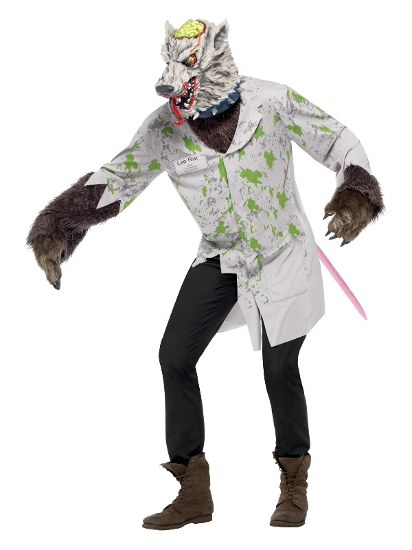 Experiment Lab Rat Costume, White