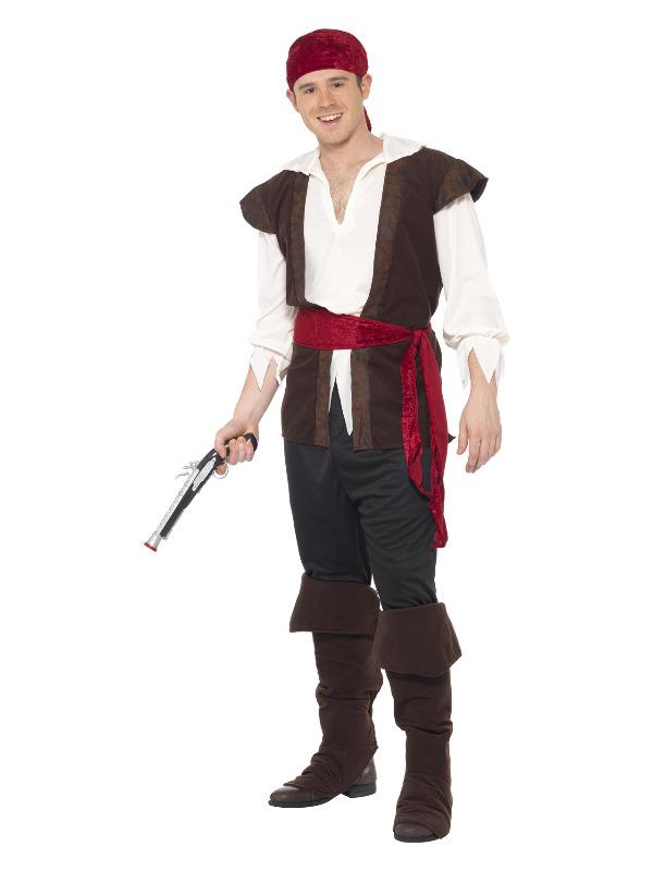 Pirate Costume, Brown