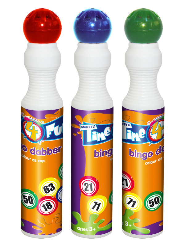 Bingo Dabber, Assorted Colours, 43ml