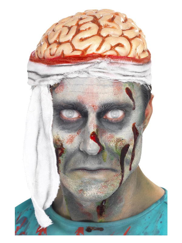 Bandage Brain Hat, Flesh