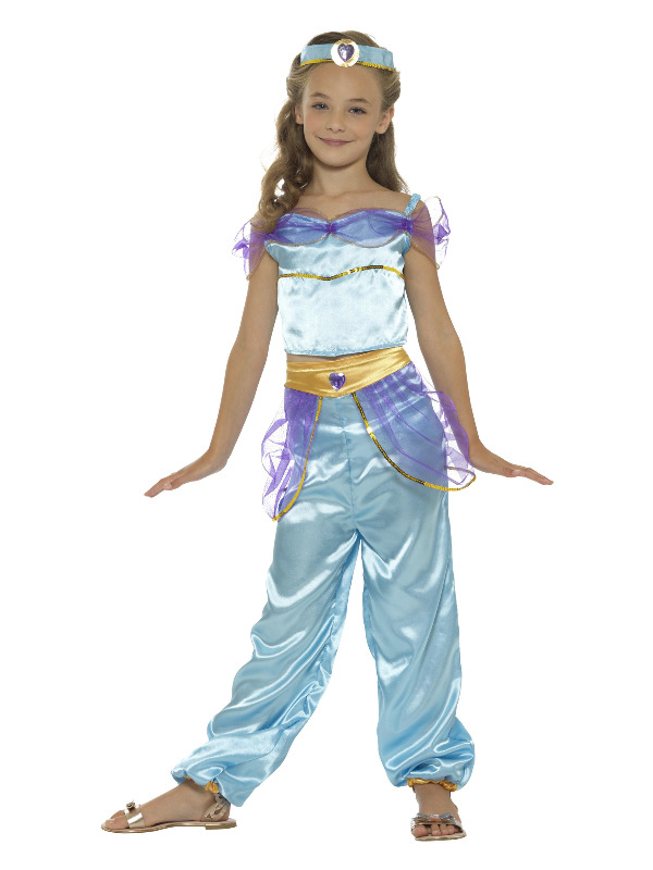 Arabian Princess Costume, Blue