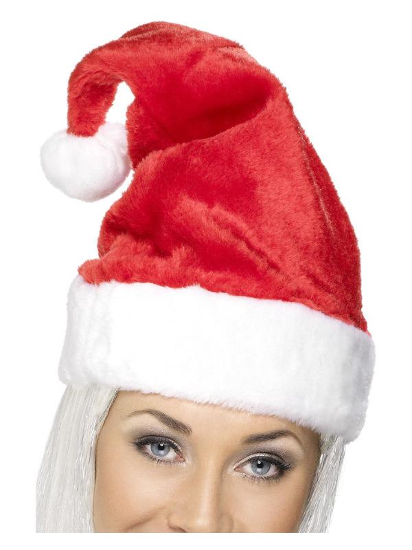 Santa Hat, Red, Deluxe