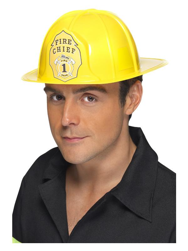 Fireman Helmet, Yellow