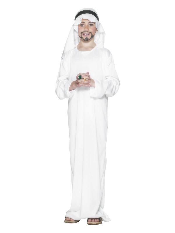 Arabian Costume, White