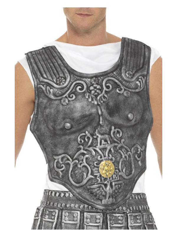 Roman Armour Breastplate, Grey, EVA