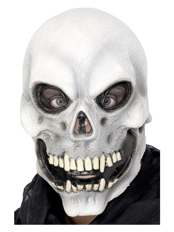 Skull Overhead Mask, White
