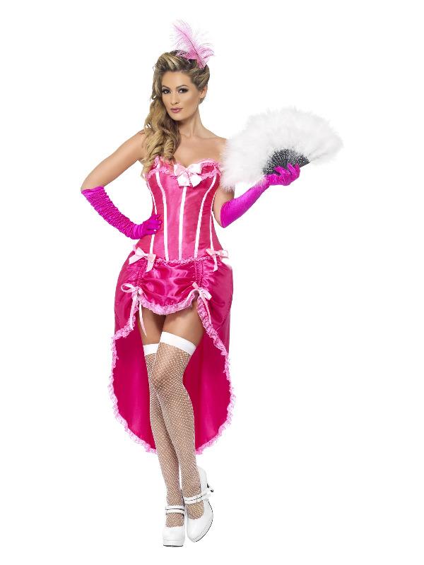 Burlesque Dancer Costume, Pink