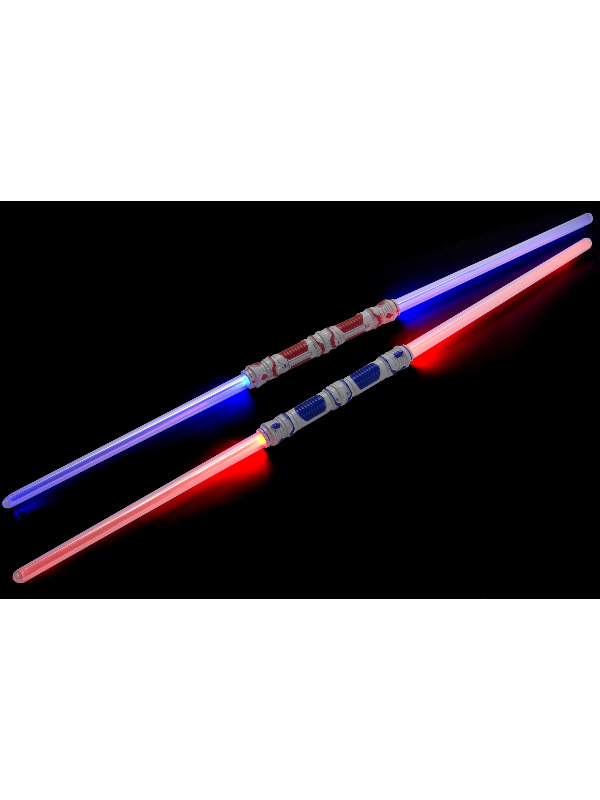 Double Ended Connectable Light Sword, Multi-Coloured, Light Up, 55cm/22in