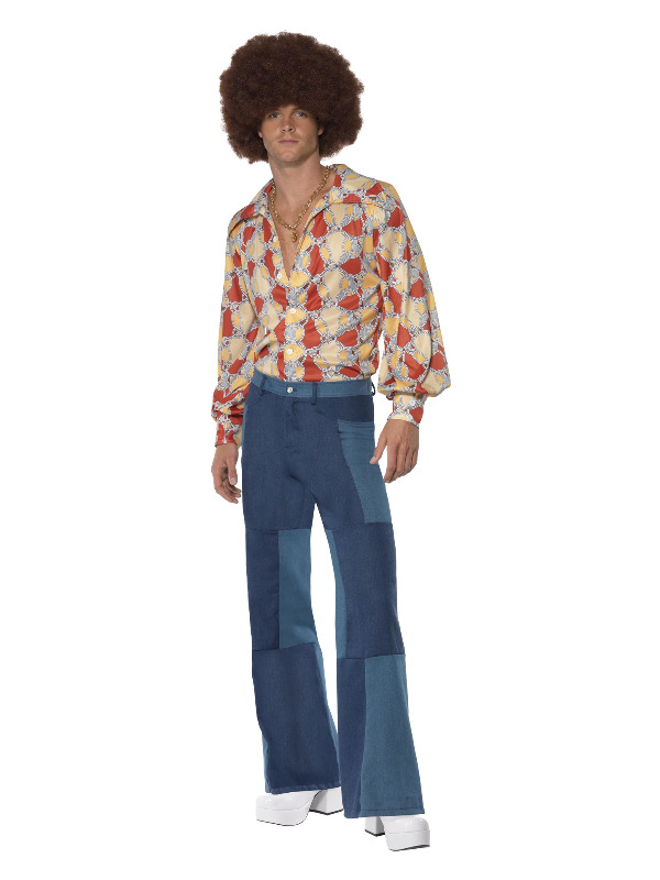 1970s Retro Costume, Blue