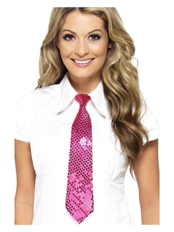 Sequin Ties, Assorted Colours