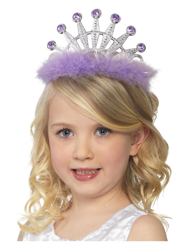Tiara Counter, Assorted Colours, with Marabou, 36
