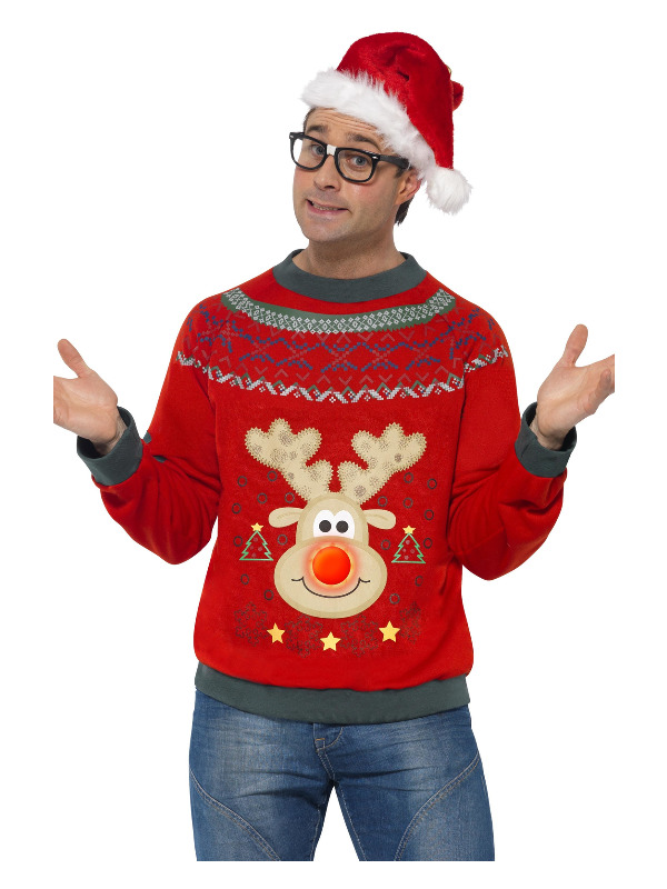 Christmas Jumper, Red