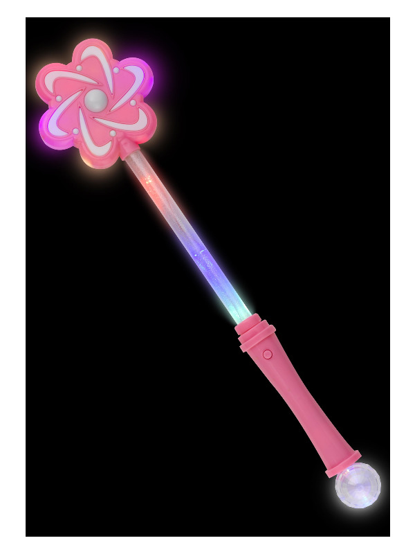 Blossom Wand, Pink, Light up, 38cm / 15in