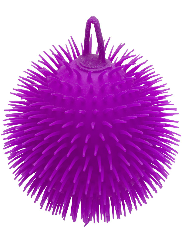 Puffer Ball, 22cm  / 9in with Light Up, Assorted Colours, 6