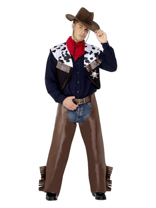 Cowboy Costume, Brown