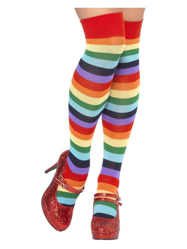 Clown Socks, Long, Multi-Coloured
