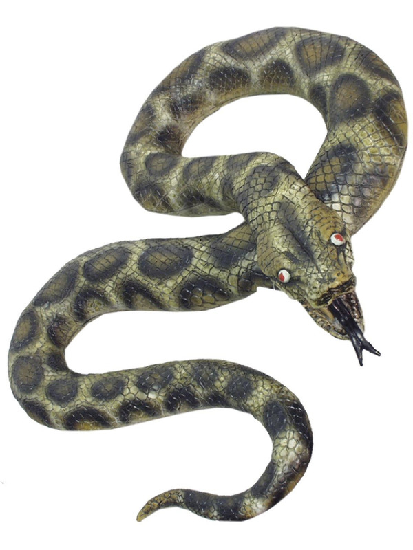 Snake, Green, Python Look a Like, 180cm