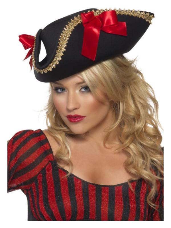 Fever Pirate Hat, Black