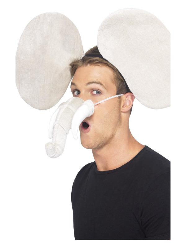 Elephant Kit, Grey, with Ears & Trunk