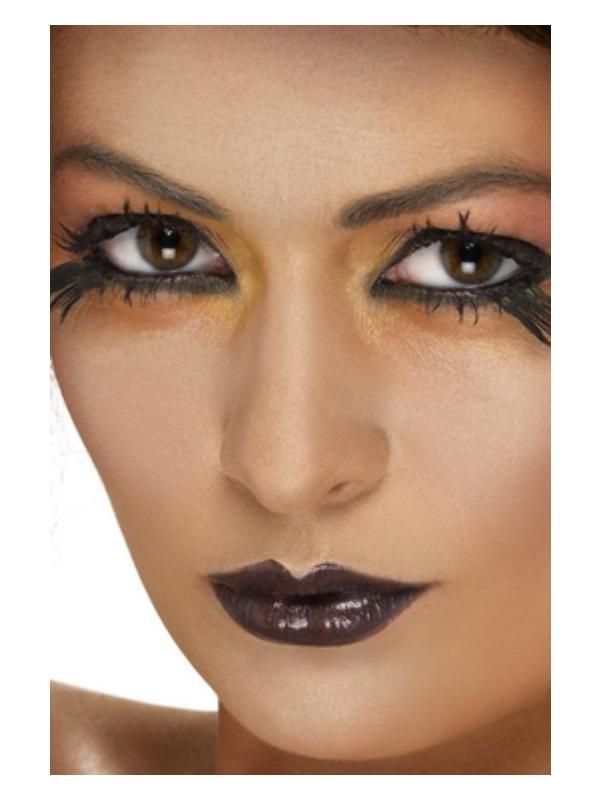 Smiffys Make-Up FX, Lipstick, Black