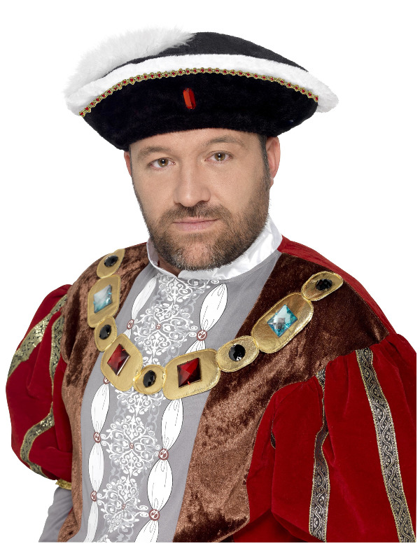 Henry VIII Hat, Black
