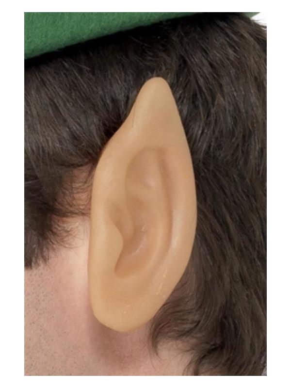 Soft Vinyl Pointed Elf Ears, Flesh