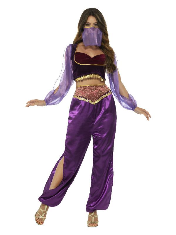 Arabian Princess Costume, Purple