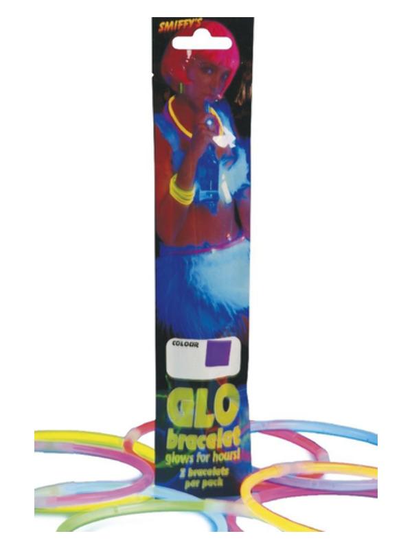 Light Stick Bracelet, Assorted Colours, 40cm / 16in