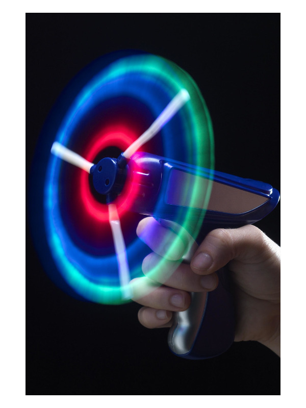 Windmill Gun, Light up, Assorted, 12cm/5in