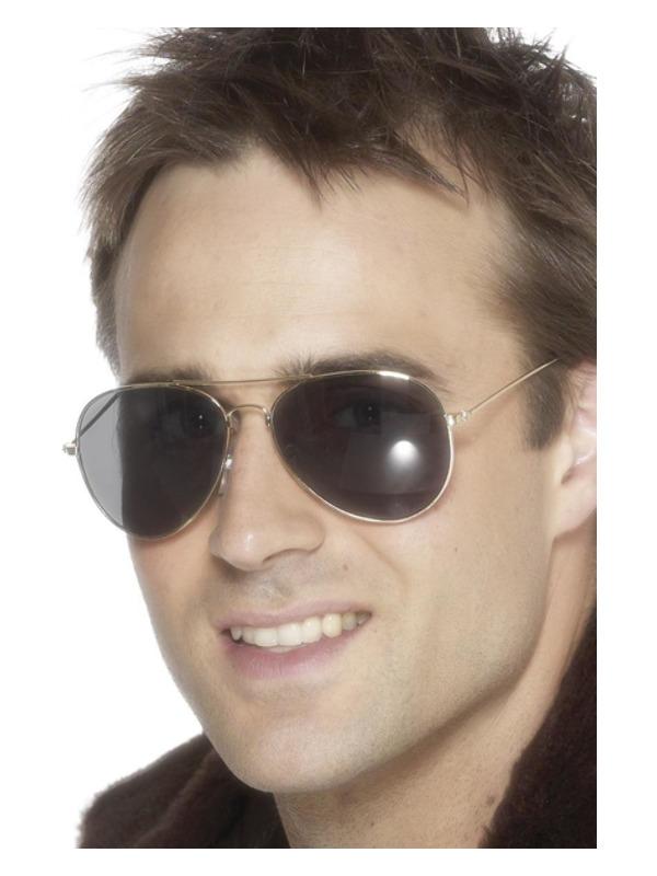 Aviator Specs, Silver
