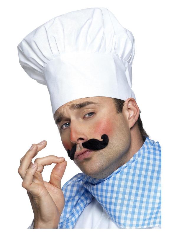Chef Hat, White
