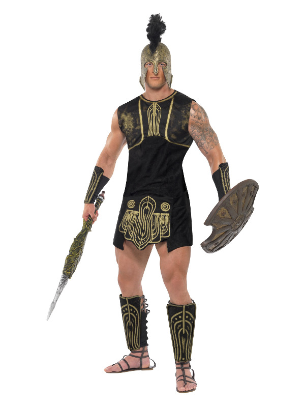 Achilles Costume, Black