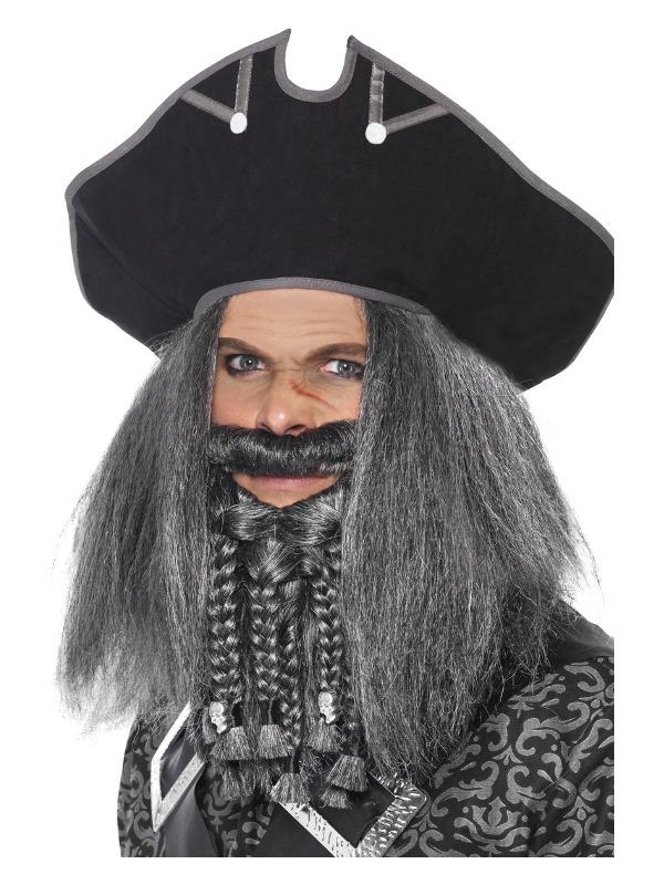 Terror of the Sea Pirate Hat, Black