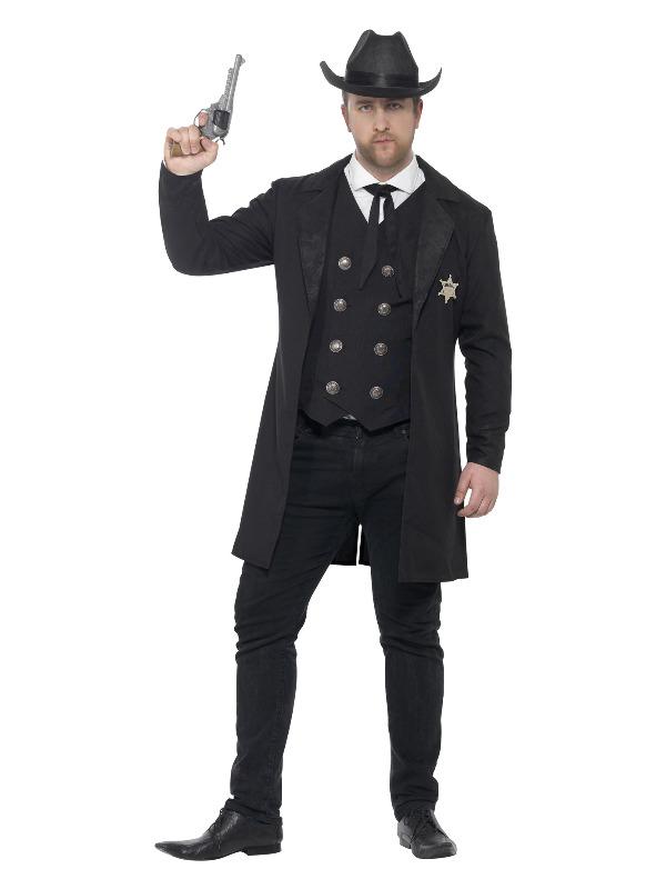 Curves Sheriff Costume, Black