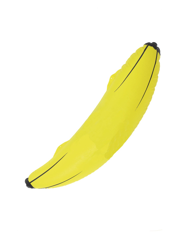 Banana, Yellow, Inflatable, 73cm/28 inches