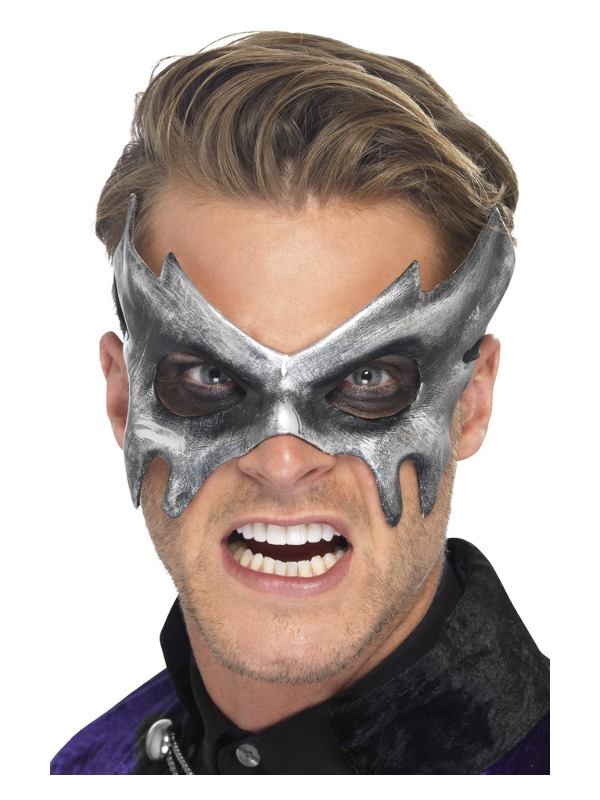 Phantom Masquerade Mask, Grey