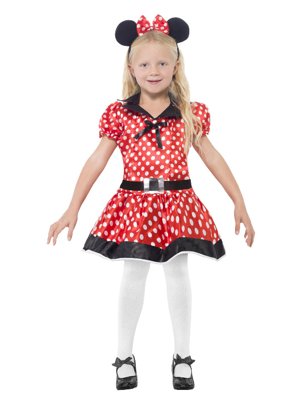 Cute Mouse Costume, Red