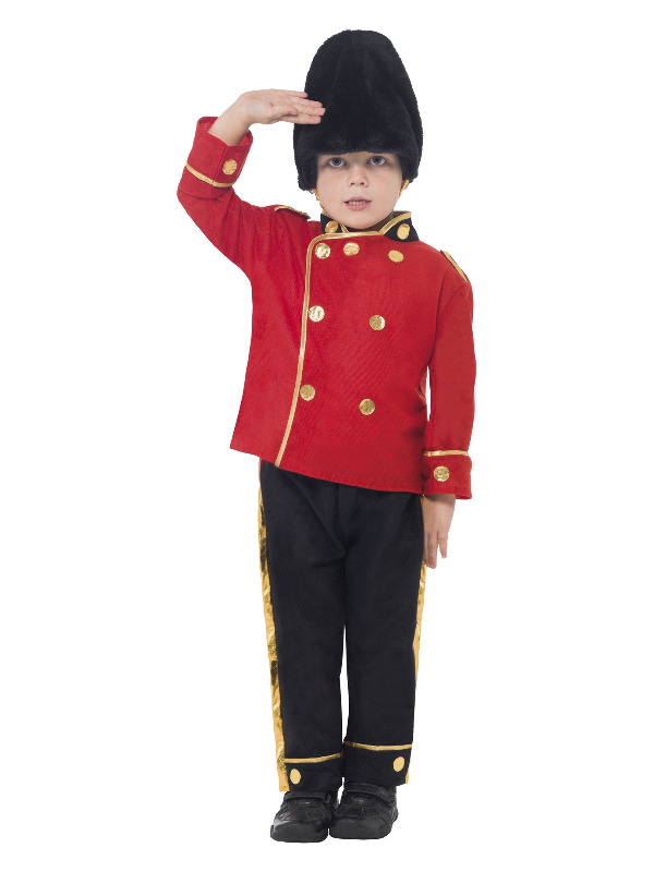 Busby Guard Costume, Red