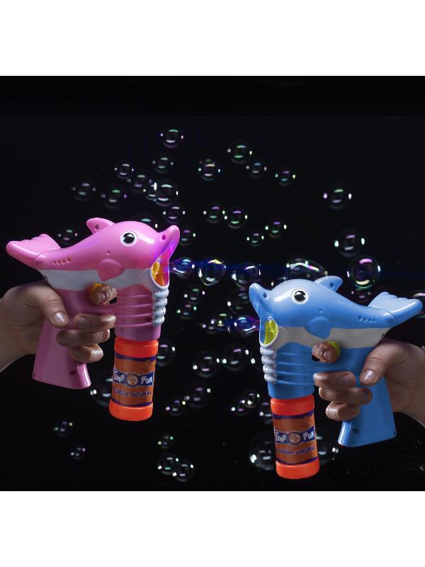 Dolphin Bubble Gun, Assorted Colours