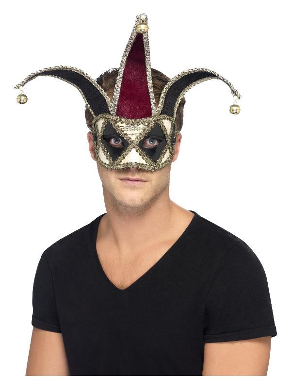 Gothic Venetian Harlequin Eyemask