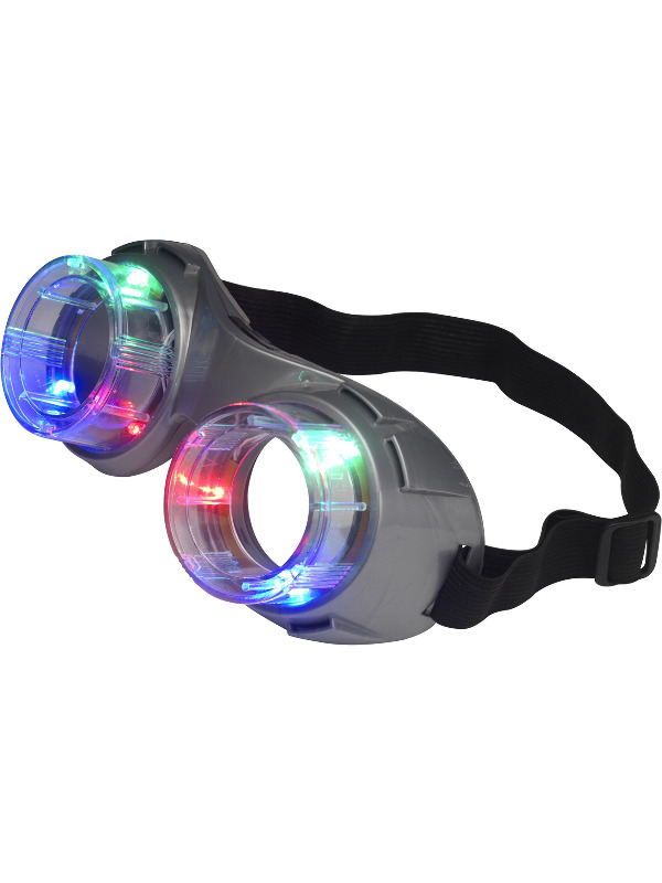 Alien Goggles, Light Up, Grey