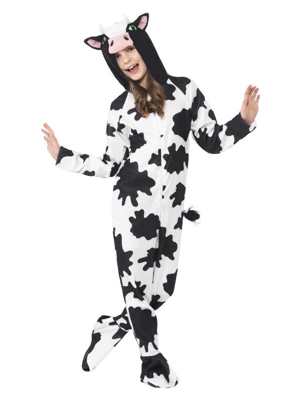 Cow Costume, Black & White