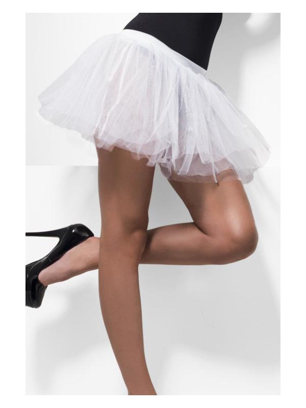 Tutu Underskirt, White, 4 Layers, 30cm Long