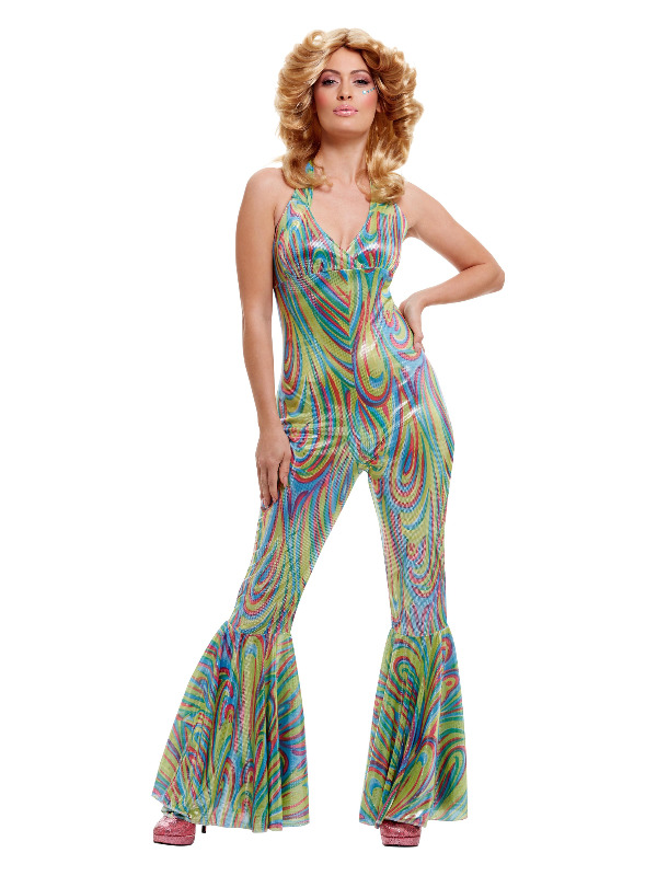 Dancing Queen Costume, Multi-Coloured